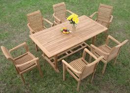 Wholesale Patio Dining Sets by 7 Piece Grade A Teak Dining Set U2013 94