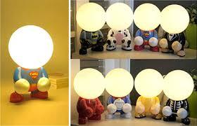 Kids Lamps Childrens Bedside Lighting Nursery Table Lamp  Baby - Kids room lamp