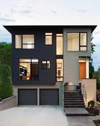 modern house plans with basement garage