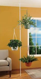 amazon com spring tension rod indoor plant pole with 3