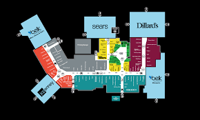 mall map of west town mall a simon mall knoxville tn