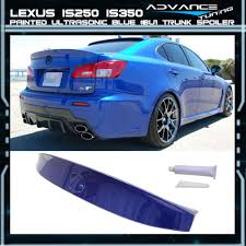 lexus is 250 for sale in cambodia 06 13 lexus is250 ik style trunk spoiler oem painted color