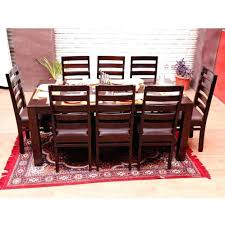 chair 8 seater dining table set aonebill com seat and chairs