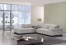 Small L Shaped Sofa Bed by White Leather L Shaped Couch Bed For Modern Minimalist Apartment
