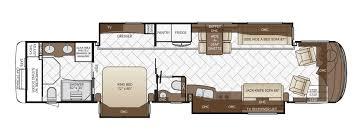 Fifth Wheel Bunkhouse Floor Plans Mountain Aire Floor Plan Options Newmar