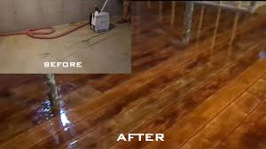 what does it cost to install hardwood floors wood concrete how to make concrete look like wood flooring youtube