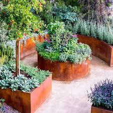 raised garden bed designs sunset