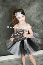 Halloween Costumes Infants 3 6 Months Sassy Jailbird Tutu Dress Black U0026 White Photo Prop