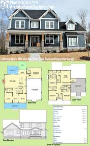 Massive House Plans by Plan 500007vv Craftsman House Plan With Main Floor Game Room And