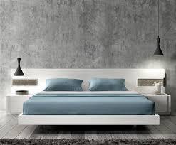 White Modern Bedroom Furniture Set Personable Modern Bedroom Furniture Idea With Shabby Grey Wall