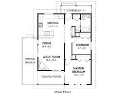 guest house plans siex