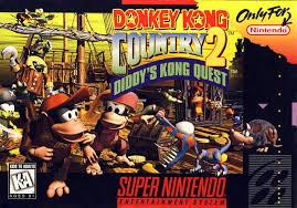 C'est la jaquette du jeu vidéo Donkey Kong Country 2 sur Super Nintendo