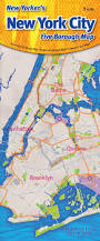 Map New York City by New Yorker U0027s New York City Five Borough Map Opus Publishing New