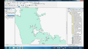 Lat Long Map How To Make A Shape File For Arcmap Gis Using Latitude Longitude