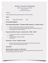 Examples For A Resume by How To Write A Resume Resume Cv