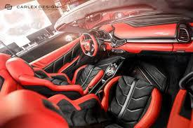 Ferrari 458 Italia Interior - carlex ferrari 458 spider final interior 6