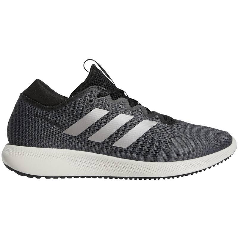 Adidas Edge Flex Grey Six / Tech Silver Core Black Ankle-High Mesh Running 11M