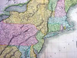 Map Of Northeast United States by 1817 Thomson Antique Map Of Ne United States Of America