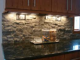 vintage kitchen design with natural stone wall with diy hanging