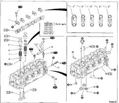 procedure to remove cylinder head from a 4m40 engine serial number