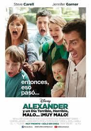 Ver Pelicula Alexander y el día terrible, horrible, malo… ¡muy malo!