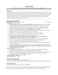 Sample Resume For Senior Manager by Resume Samples Retail Jobs