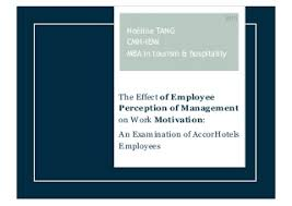 Thesis   The Effect of Employee Perception of Management on Work Motivation  An Examination of LinkedIn