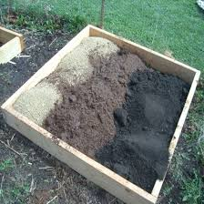 Manure For Vegetable Garden by Square Foot Vegetable Gardening Using Timber Raised Beds