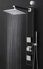 features shower panel system comes with a easy connect adapter