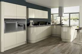 Furniture Style Kitchen Cabinets Opal Gloss Stone Kitchen Units For Modern Kitchen With The White