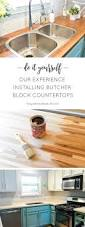 How To Install Kitchen Island by Best 10 Butcher Block Island Top Ideas On Pinterest Wood