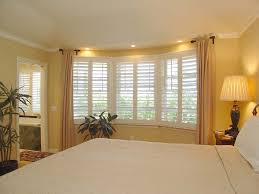 bedroom square shape small home master bedroom bay window