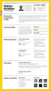 The Best Resume In The World by 81 Terrific Example Of A Great Resume Template Really Good Resume