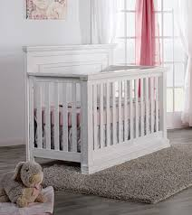 Vintage White Baby Crib by Pali Modena Collection Forever Crib In Vintage White