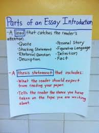 Pinterest     The world     s catalog of ideas Parts of an Essay Introduction  Lead ideas and parts of a thesis statement  Also