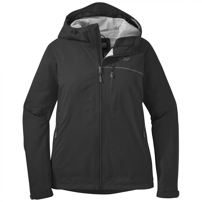 Outdoor Research Interstellar Jacket CLEARANCE-Medium Black