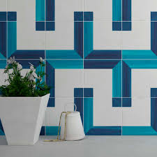 indoor tile wall ceramic geometric pattern square wall