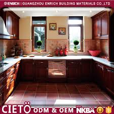Mobile Home Kitchen Cabinet Doors Contemporary Modern Big Kitchen Molave Wooden Craft Cabinet Glass