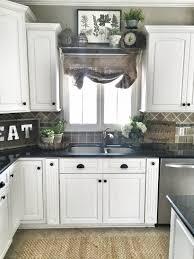 Eat In Kitchen Ideas Farmhouse Kitchen Decor Shelf Over Sink In Kitchen Diy Home