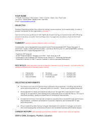 Basic Resume Examples Skills Basic Resume Objective Examples Best Business Template Good