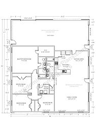 Massive House Plans by 30 Barndominium Floor Plans For Different Purpose Barndominium