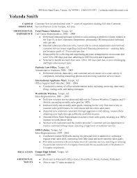 customer service resume objective customer service representative       sample of customer service resume