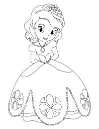 Coloring Ideas by Sofia The First Coloring Pages Fablesfromthefriends Com