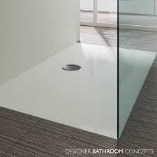 suburb designer flat flush fitting shower tray dbcsuburb