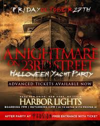 halloween party cruise a nightmare on 23rd street tickets fri