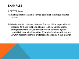 WRITING LITERARY ANALYSIS DUAL CREDIT WHAT MAKES A GOOD LITERATURE EXAMPLES A BETTER thesis Hamlet experiences internal conflict because he is in love with