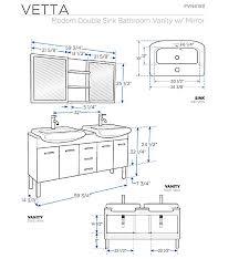 Vessel Sink Cabinet Height Bar Cabinet - Height of bathroom vanity for vessel sink
