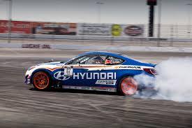 Dodge Challenger Drift Car - rhys millen gets a new drift car but so does vaughn gittin jr
