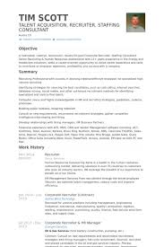 Recruiting Resume Examples by Recruiter Resume Examples