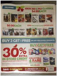 gamestop ps4 black friday gamestop black friday deals leaked